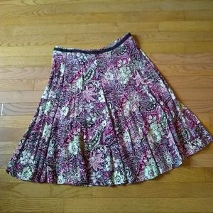 (5/$20) Christopher and Banks floral skirt.